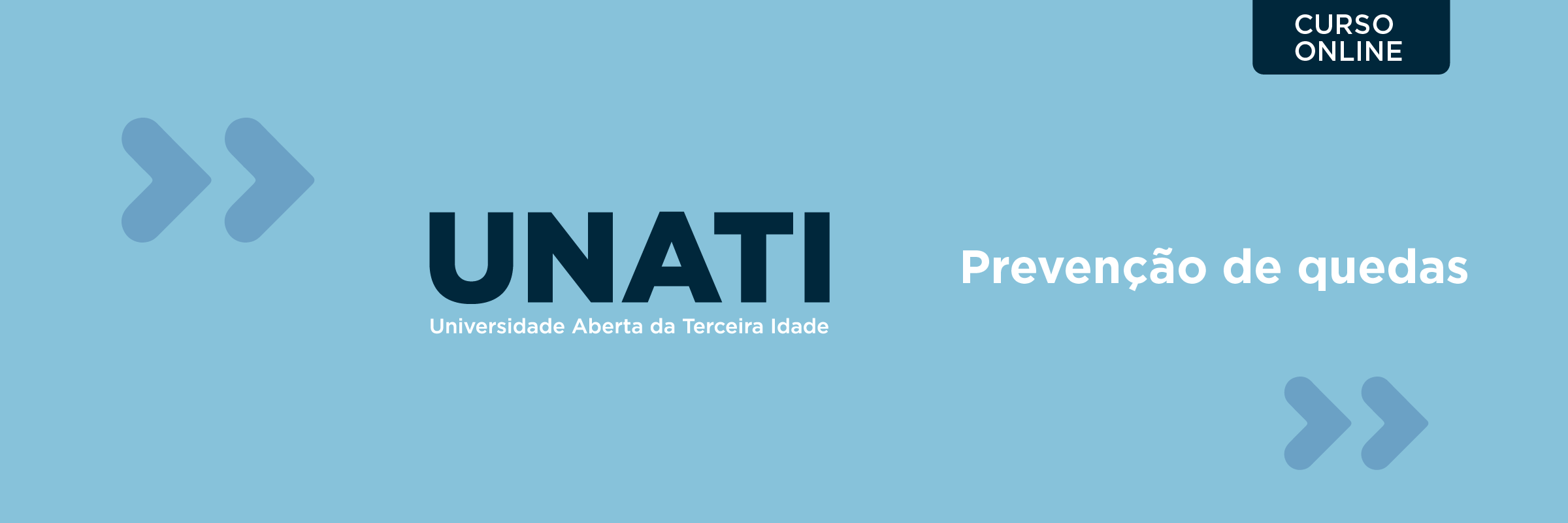 192166 - CURSO DE EXTENSÃO EM PREVENÇÃO DE QUEDAS EM IDOSOS